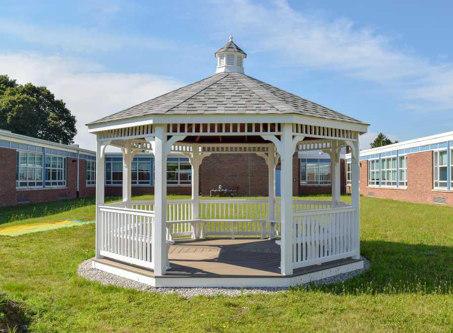 Custom gazebo in medfield MA