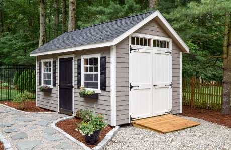 Trestle Custom Storage Shed in Hopkinton, MA
