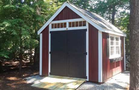 Prebuilt shed in RI
