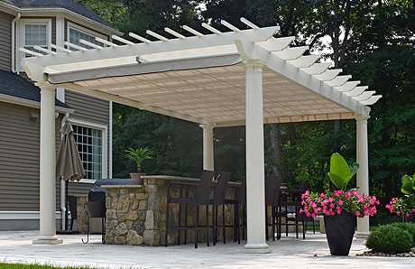 pergola in Southborough MA