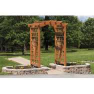 "78"" Sum Breeze Round Top Poly Arbor"