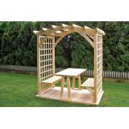 "67"" Twilight Round Top Arbor"