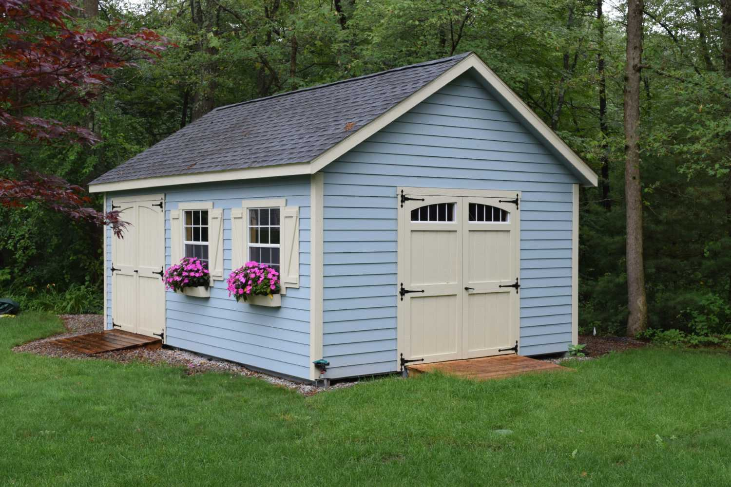 cedar length with solutions storage cupola and porch shed full vinyl frame sheds a craft