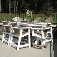 Aurora Rectangle Table And Six Chairs