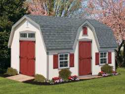 This storage shed will add value and serviceability to any backyard or property, plus its built with only the best of materials.