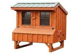 Chicken Coops are built to whatever you want from the top to bottom, personalized for you.