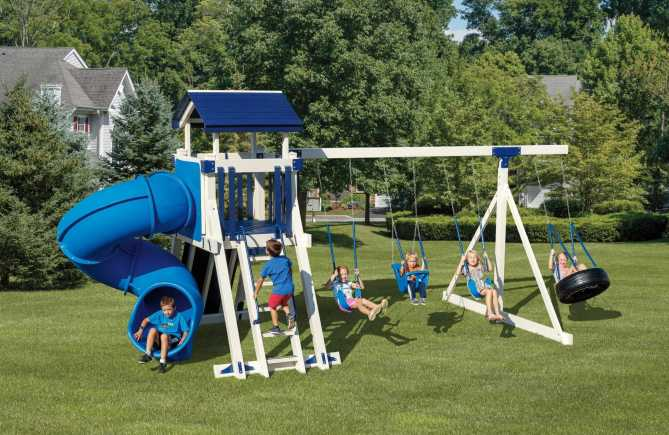 Sierra Vinyl swing set