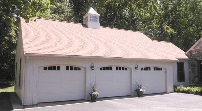 A Custom Zephyr Cupola on a garage.