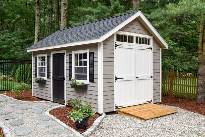 Trestle Custom Shed in Hopkinton, MA