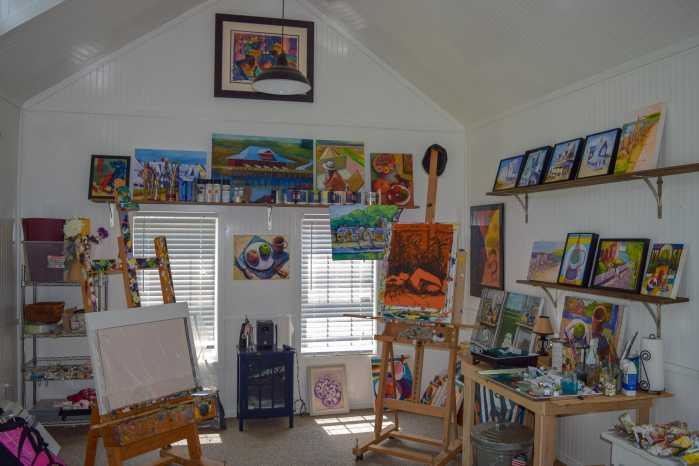 Custom Art Studio Interior