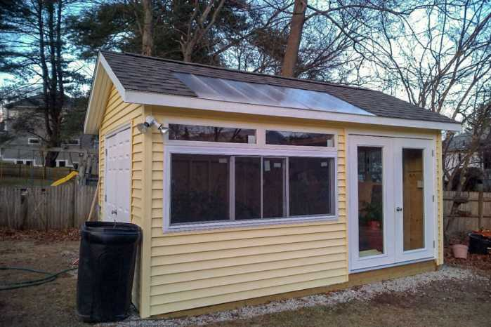 Custom Garden Shed in Newton, MA by Outdoor Personia