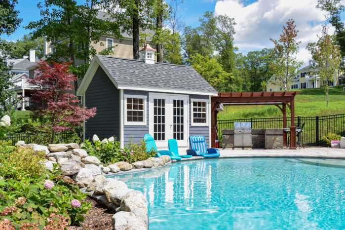 Pool house and Pergola by Outdoor Personia
