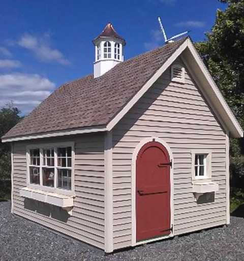 A 12x16 Shed in Whitman