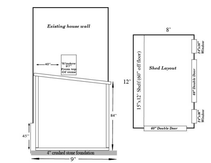 design plans for new shed