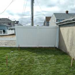 planned location of backyard shed
